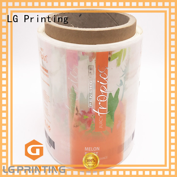 LG Printing printed packaging law manufacturer for wine bottle