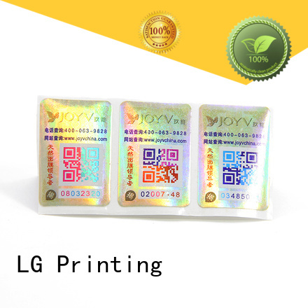 LG Printing custom sticker labels for bottles company for products