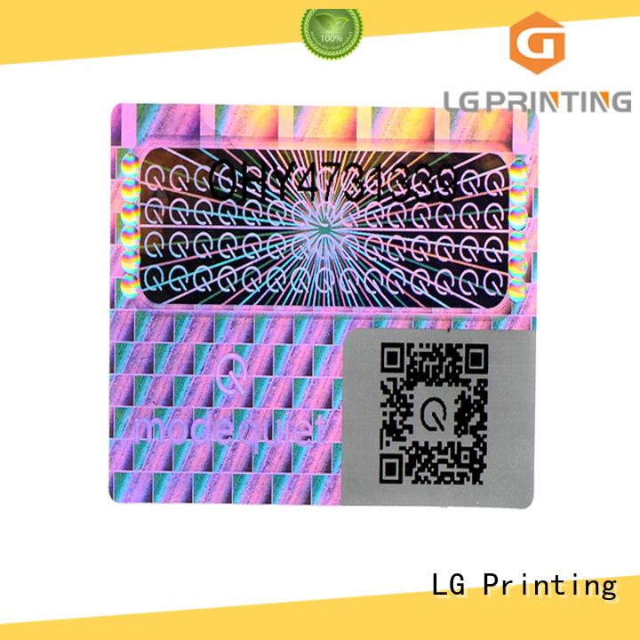 3d hologram printing silver for door LG Printing